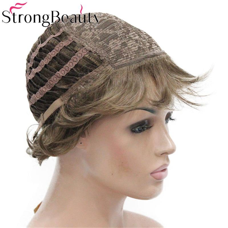 StrongBeauty Σύντομες Σγουρές Συνθετικές - Συνθετικά μαλλιά - Φωτογραφία 5