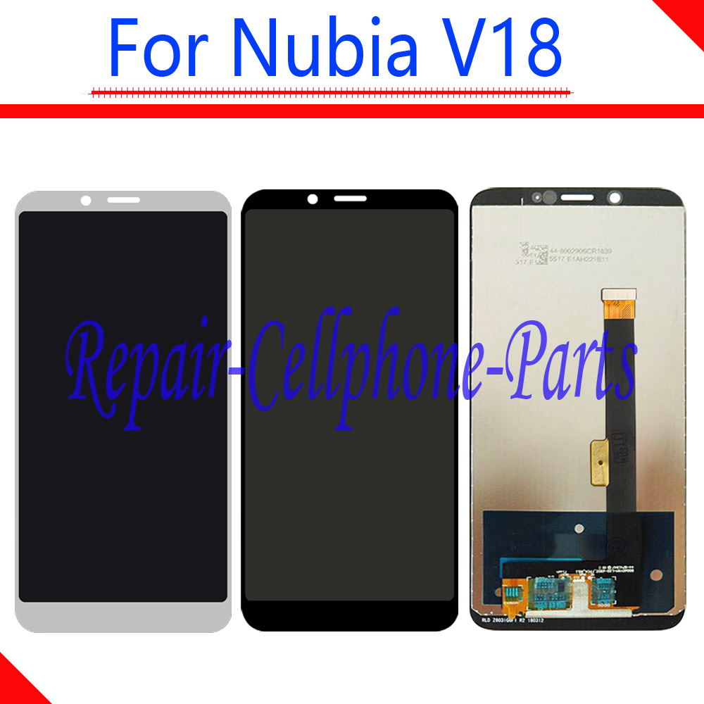 100% New Full LCD DIsplay + Touch Screen Digitizer Assembly Replacement For ZTE Nubia V18 NX612J Free Shipping100% New Full LCD DIsplay + Touch Screen Digitizer Assembly Replacement For ZTE Nubia V18 NX612J Free Shipping