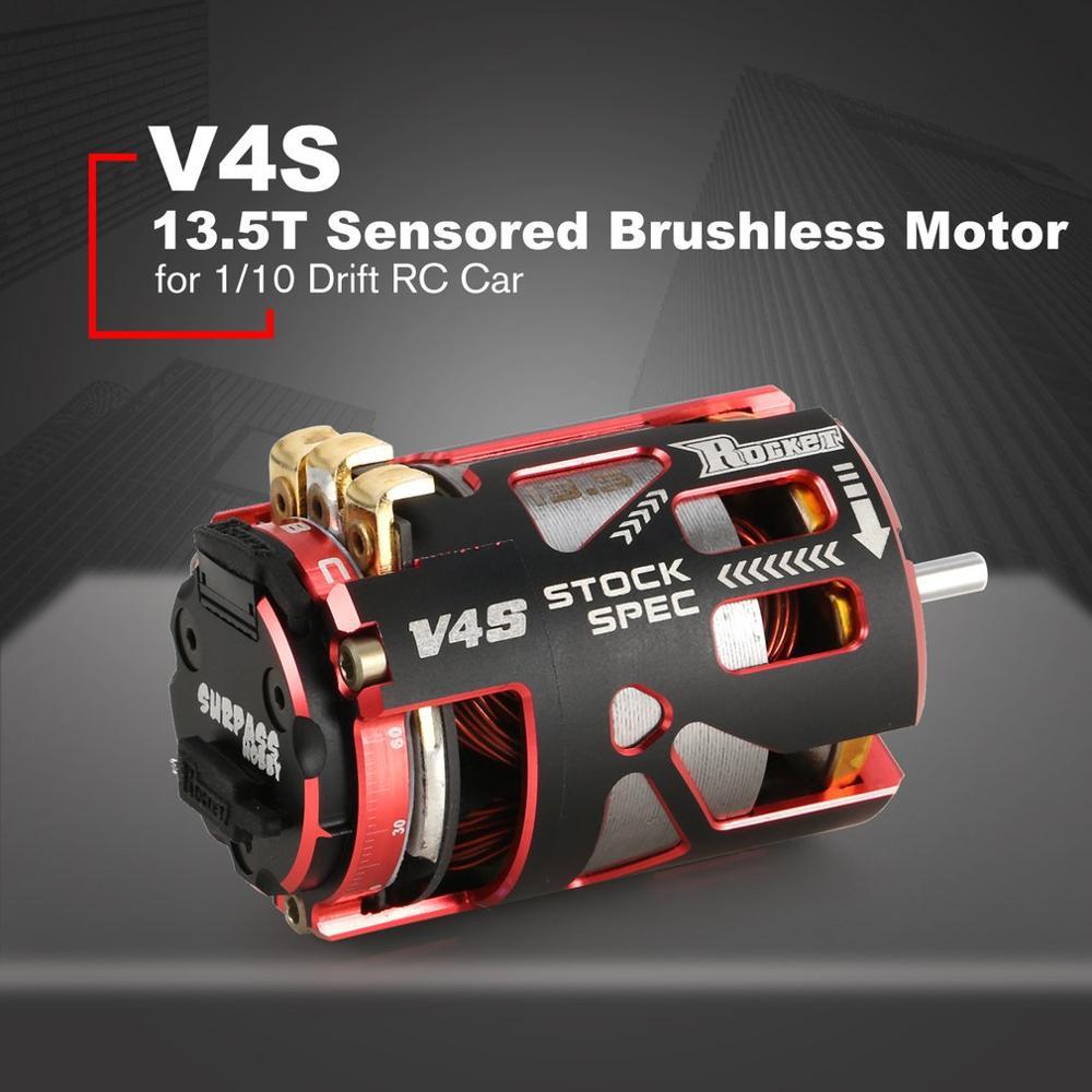 SURPASSHOBBY V4S 540 13.5T 3.175mm moteur sans balais sensuré pour 1/10 modèle de camion de course RC sur route
