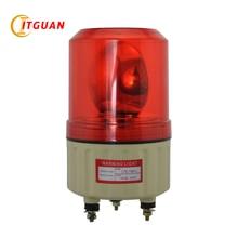 LTE-1081J Incandcent вращающийся сигнальный фонарь красный/желтый/зеленый/синий с болтом снизу стробоскоп свет полицейский Маяк аварийная лампа