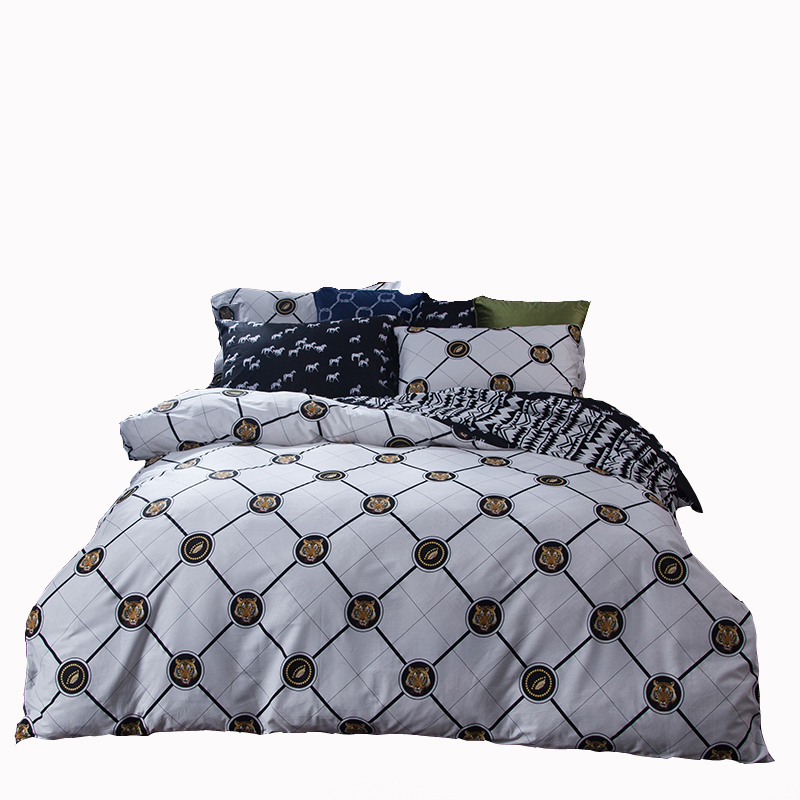 Queen Size Luxury Bedding Set His His And Hers Quilt ②