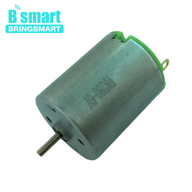 Bringsmart RK280 6V <font><b>12V</b></font> Mini Electric <font><b>DC</b></font> <font><b>Motor</b></font> <font><b>6000rpm</b></font> High Speed <font><b>Motor</b></font> Strong Magnetic Toy Small <font><b>Motor</b></font> image