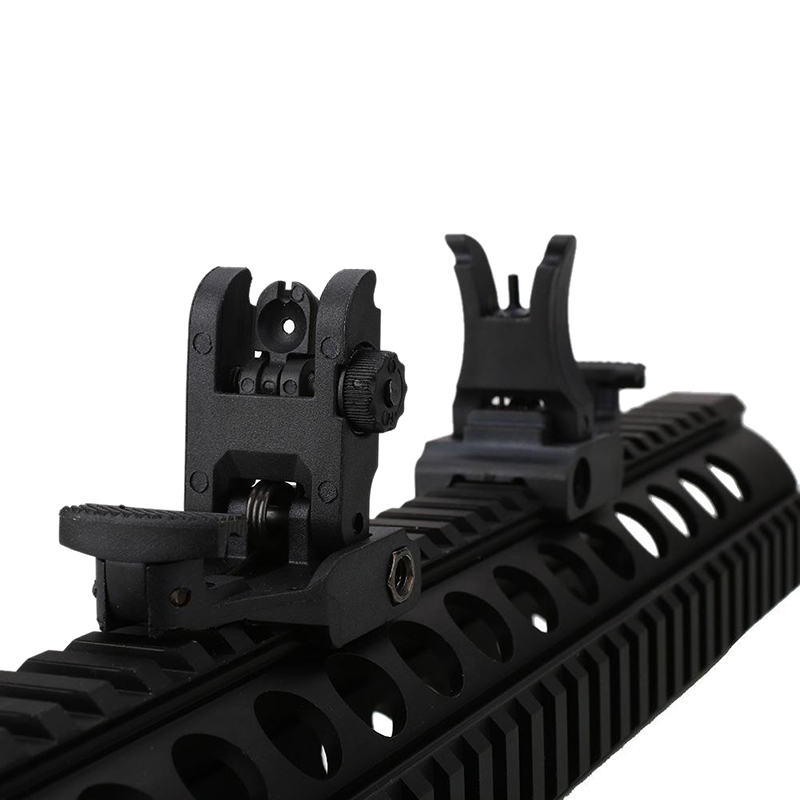 New Style 2018 Profession Folding Tactical Flip up Sight Rear Front Sight Mount Set for Picatinny Rails/Weaver Riflescopes цена и фото