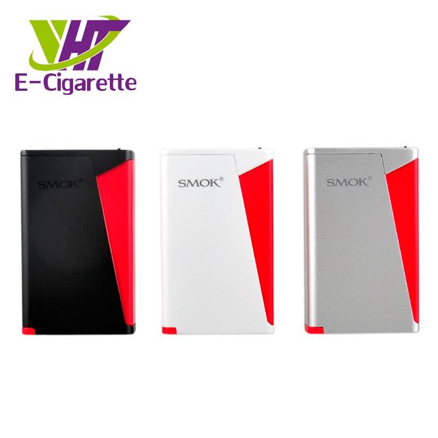 100% Diseño Original Triángulo Rojo Caja Mod Smok H-Priv 220 W TC Pantalla Superior VW/TC modos