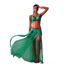 New hot and sexy summer cover up swimsuit bikinis women de las mujeres 2016 push up cintura bathing Sarong Skirt 5 colors 1 size