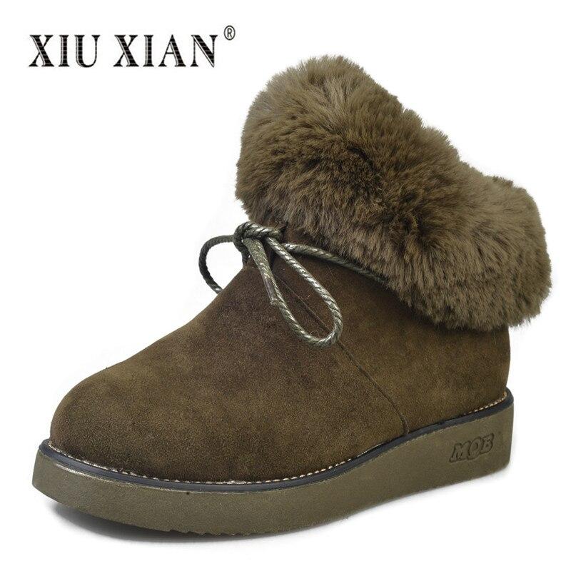 2018 New Brand Design Women Winter font b Snow b font font b Boots b font
