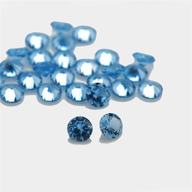 Купить размер 1 ~ 10 мм круглая форма блестящая резка синтетические