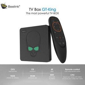 Image 1 - Beelink Gt Koning Android 9.0 4K Tv Box Amlogic S922X 4 Gb DDR4 Ram 64 Gb Rom 1000M lan 5G Wifi Bluetooth 4.2 Smart Tv Box