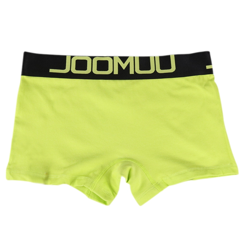 Lesbian Women Men Boxer Shorts Panties Cotton Couple Underwear Lovers Underpants Soft Male Mid-waist Boyshorts
