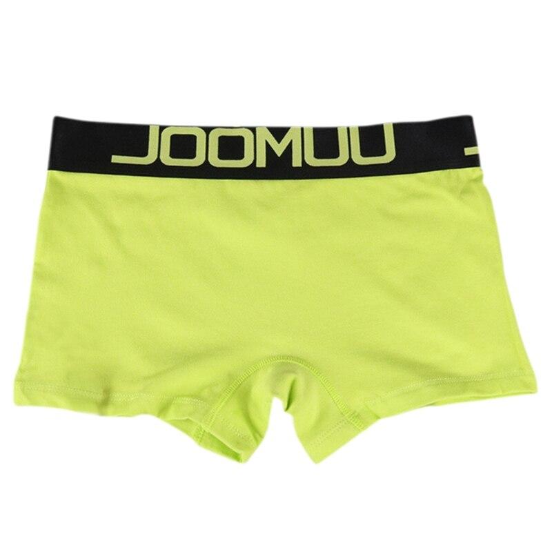 Lesbian Women Men Boxer Shorts Panties Cotton Couple Underwear Lovers Underpants Soft Male Mid-waist Boyshorts