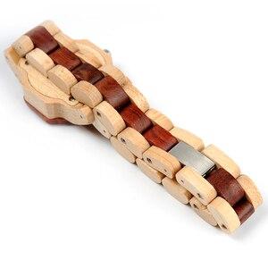 Image 4 - BOBO BIRD reloj de madera de cuarzo para mujer, exquisito reloj de diseño creativo octagonal, caja de regalo, 2020