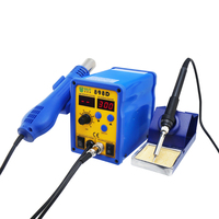 2 in 1 Digital Display Lead free 720W CE Certification Hot Air SMD Rework Station with Soldering Iron