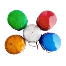 Красный световой светильник, сигнальная лампа, светодиодный, 5 цветов, стробоскоп, 12 В, 24 В, 220 В, SL-79
