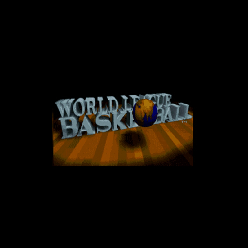 World League Basketball NTSC Version 16 Bit 46 Pin Big Gray Game Card For USA Game Players image