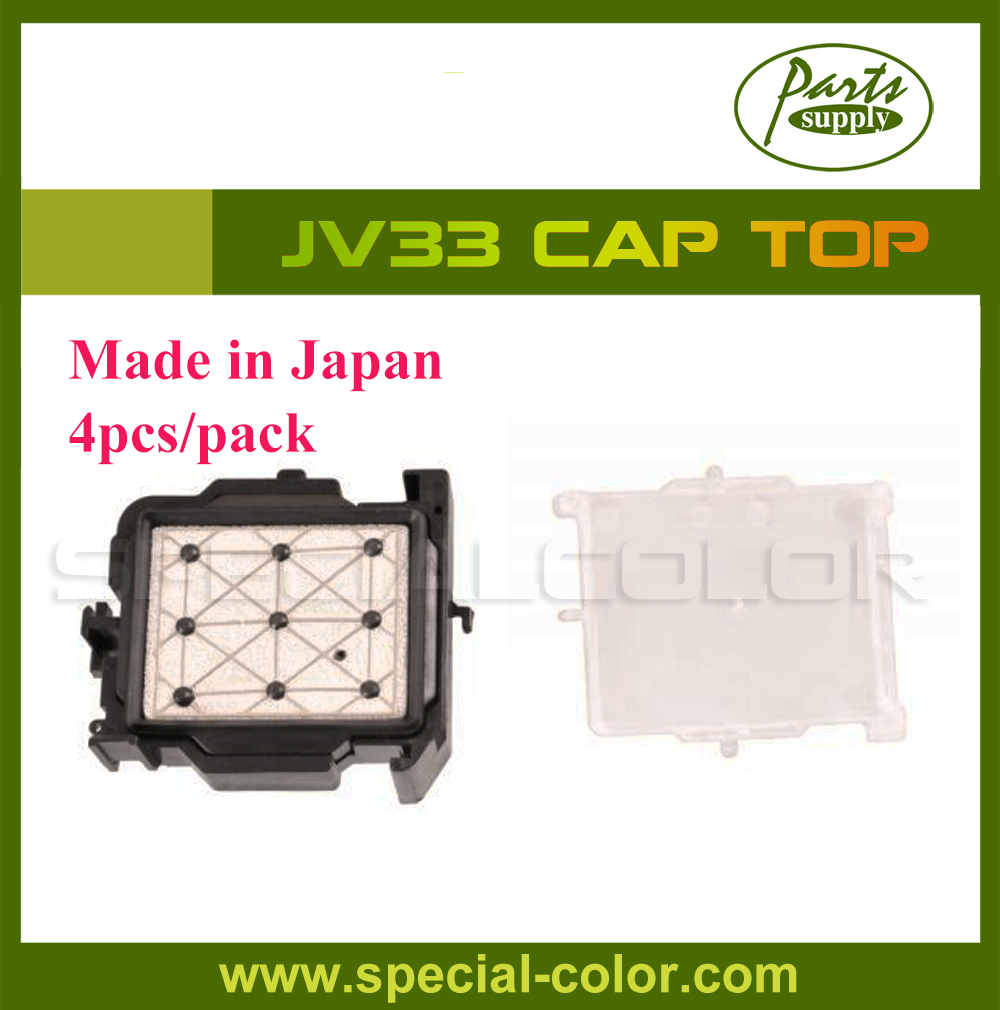 [Made in Japan] 4pcs/pack Mimaki JV33 Cap Station Top for DX5 Solvent Printhead original dx5 printer head made in japan with best price have in stock for sale