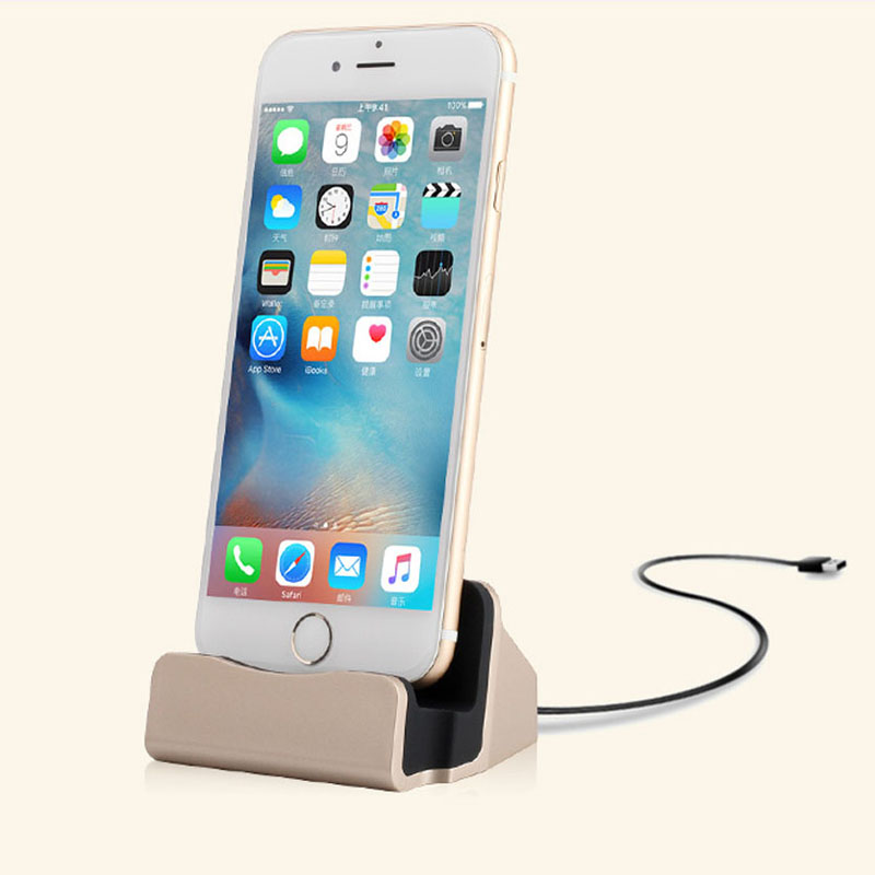 Fast USB Cable Data Phone Charger Dock Stand Station Charging For Iphone 11 Pro Max  Xs Xr Max 6s 5s 6 7 8plus Moblie Phone