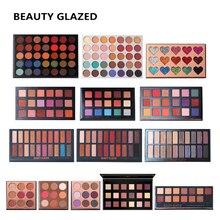 35 Colors Eyeshadow Palette Nude Glitter Matte Shimmer Waterproof Long-lasting Easy to Wear