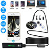 5m 10m Wireless WiFi Camera Inspection Endoscope 8 LED HD 1200P Hard Cable Cord Cam Adjustable