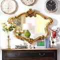 Нечетные ряды выход гостиной дома в европейском стиле роскошная ванная комната фрески кайзер пу декоративные зеркало модели J