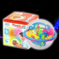 2016 New 3D Magical Intellect Maze Ball Kids Amazing Balance Logic Ability Toys
