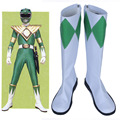 Mighty Morphin Power Rangers Tommy Oliver Cosplay Costume Shoes Pu Leather Boots Shoes New Custom For Women Men