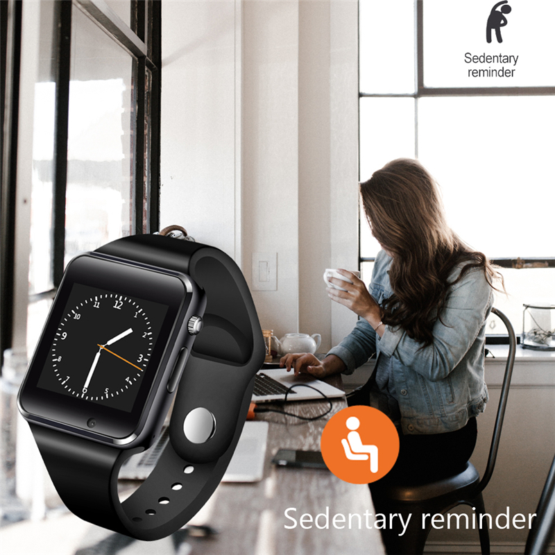 LIGE New Smart Watch Men Women Support SIM TF Card Bluetooth Call Pedometer Sport Waterproof Smartwatch For Android IOS 2018 in Smart Watches from Consumer Electronics