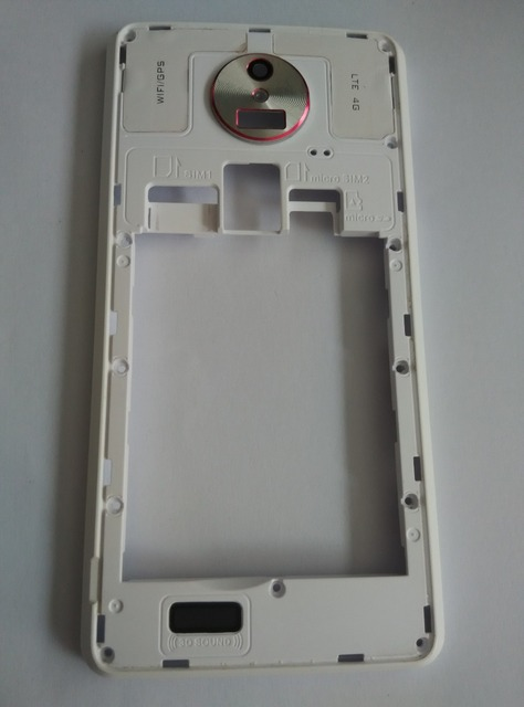 used back frame holder+Antennas+camera glass Replacement for ...