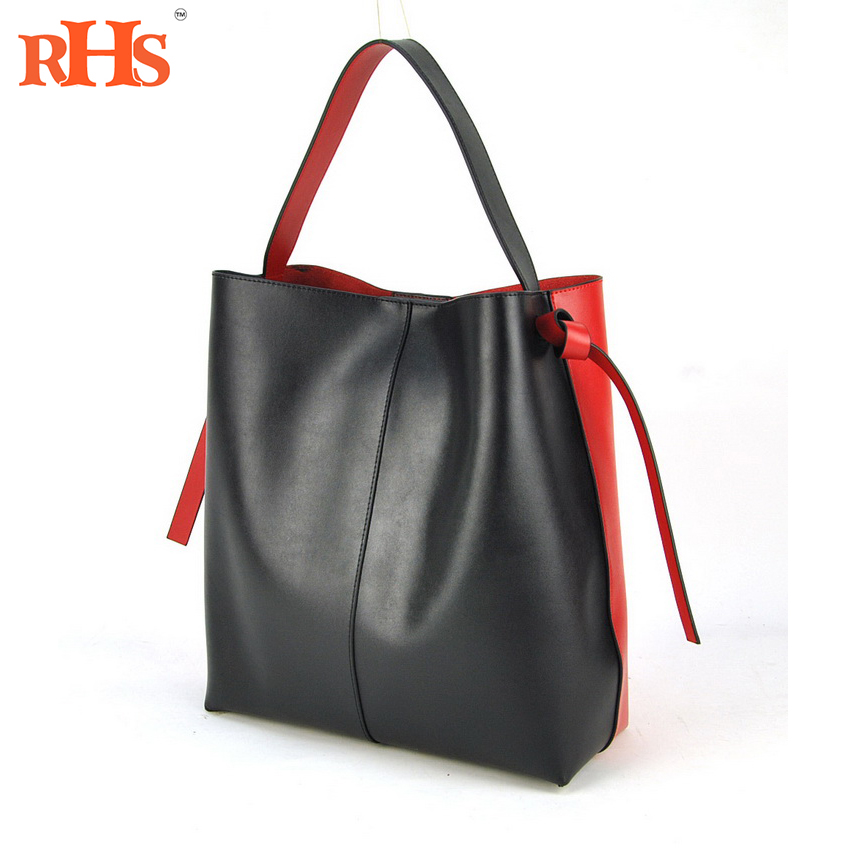 New Arrival Brand Design Real Nappa Leather Women Handbags High Quality Bags Fashion Shoulder Tote Shopper Female 2017 hot genuine leather bags brand women eather handbags fashion design shopper tote bag female luxurious shoulder bags