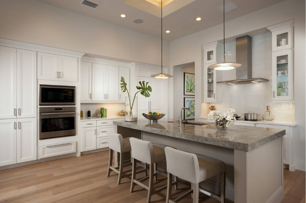 2017 solid wood kitchen cabinets customized made ...