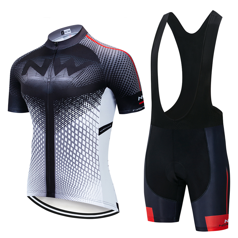 Cycling Jersey Set 2019 Pro Team Nw Breathable Bicycle Cycling Clothing Men Mountain Bike Maillot Ropa Ciclismo Bib Shorts Set