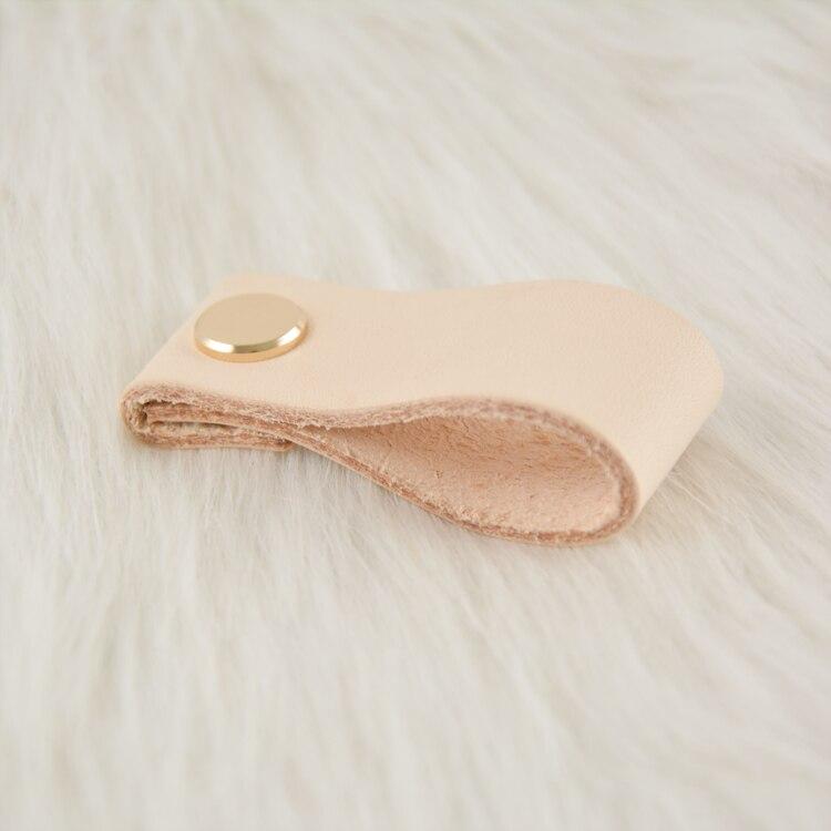 Купить с кэшбэком 3.75'' 5'' 6.3'' Leather Dresser Handle Drawer Knob Pulls Door Handles Skin Gold Silver Gun Cabinet Knob Pulls Kitchen Hardware