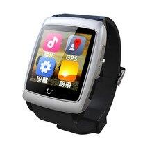 ต้นฉบับU Watch U18ดูสมาร์ทที่มีบลูทูธV4 Dual Coreจอips Android 4.4 GPS WiFiกันน้ำเข็มทิศนอนตรวจสอบ