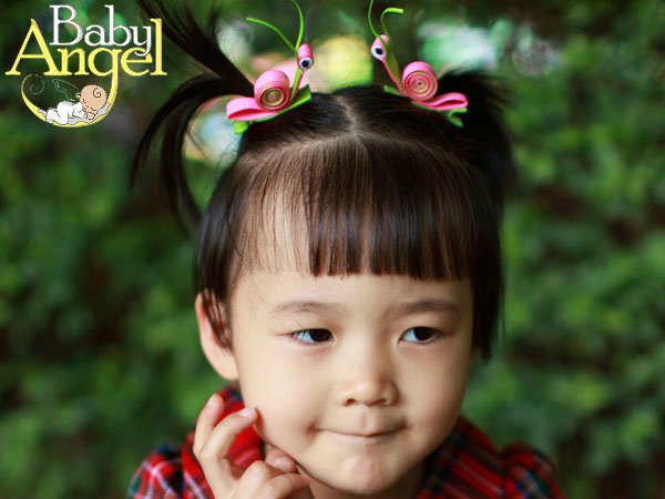 Min Order $9.9, Lovely Snail Kids Hair Accessories, Free Shipping