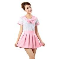 Sagace Cute Senior School Uniform Shirt Skirt Set Women Costume Dress Anime Girl Japan Preppy Style