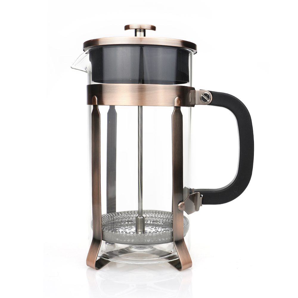 1000 ml Glass French Press Coffee Filter Pot Coffee Maker ...