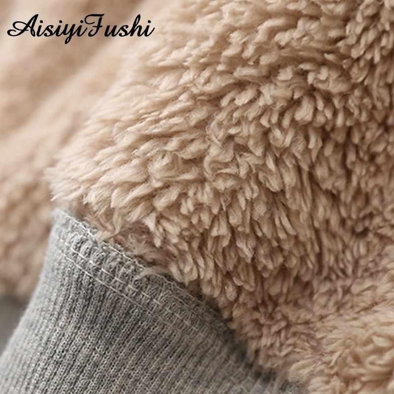 Зимние пальто одноцветное кашемир теплое пальто Для женщин вельветовые куртки женские кашемировые толстые куртки пальто с капюшоном зимние Для женщин Повседневная Дамская