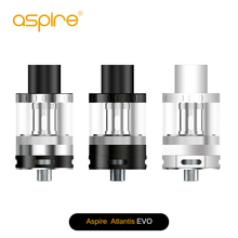 ФОТО in stock aspire atlantis evo tank double wicking top filling atomizer 2ml standard or 4ml extended version with atlantis coils