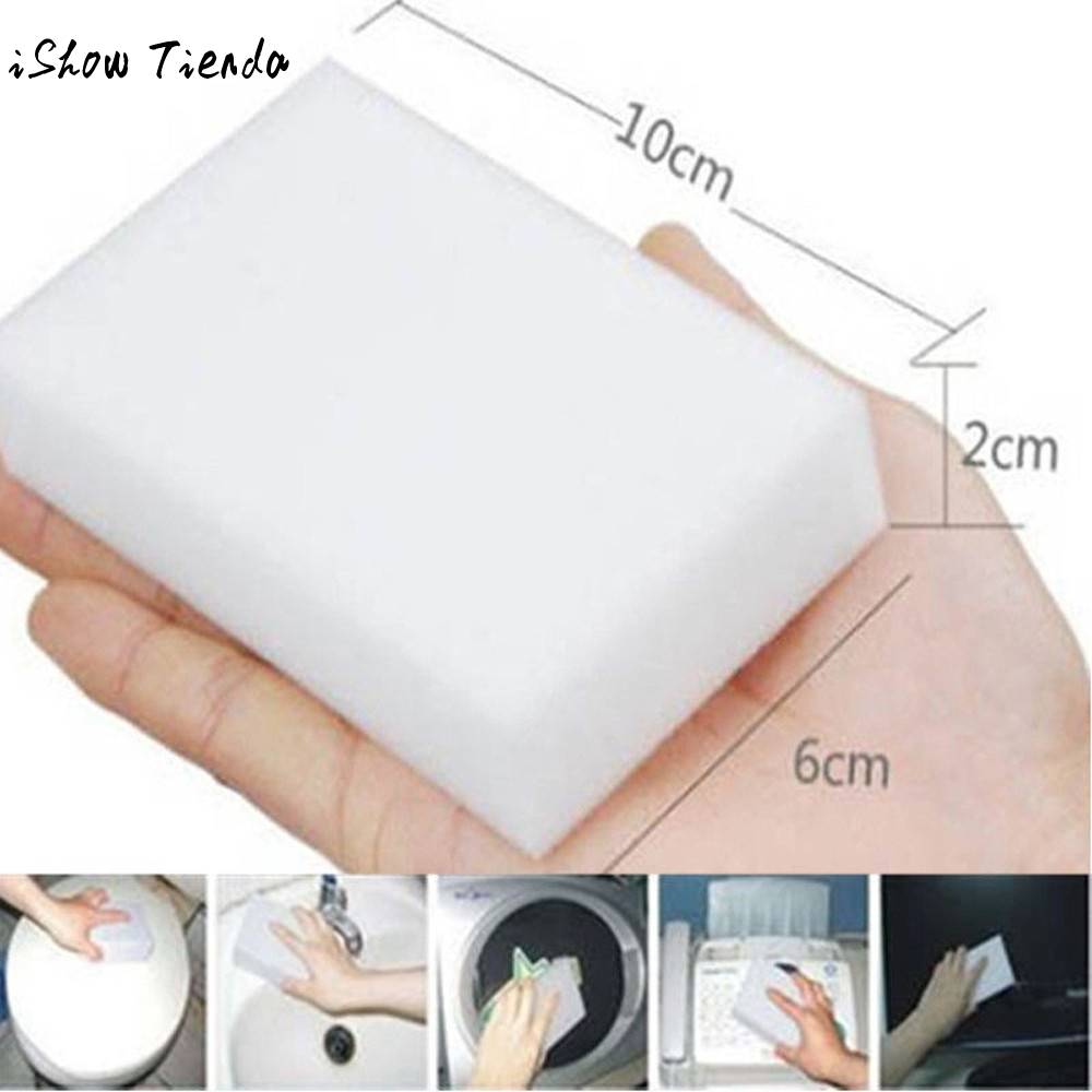 Sofa Foam Cleaner 20pcs Magic Sponge Eraser Cleaning Melamine Multi Functional Foam Cleaner Suitable For Sofa Porcelain Glassware Cleaning Helper In Sponges Scouring