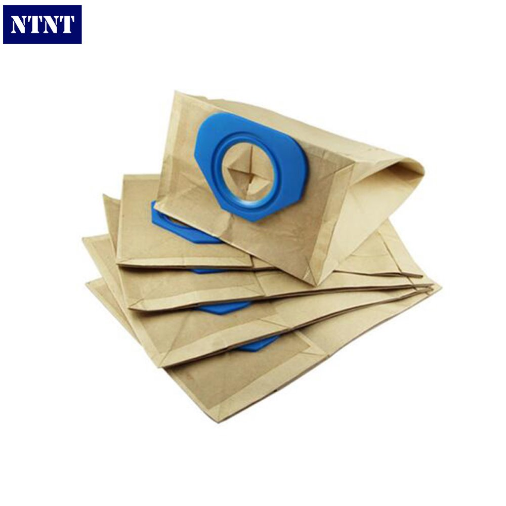 NTNT Free Post New 15 PCS 2-layer paper bag filter bags For NILFISK GA70 GS80 GS90 GM80 GM90 Vacuum Clean dust bag ntnt free post new 15 pcs dust bag and 1x filter kit for karcher vacuum cleaner a2054 a2064 15 bags