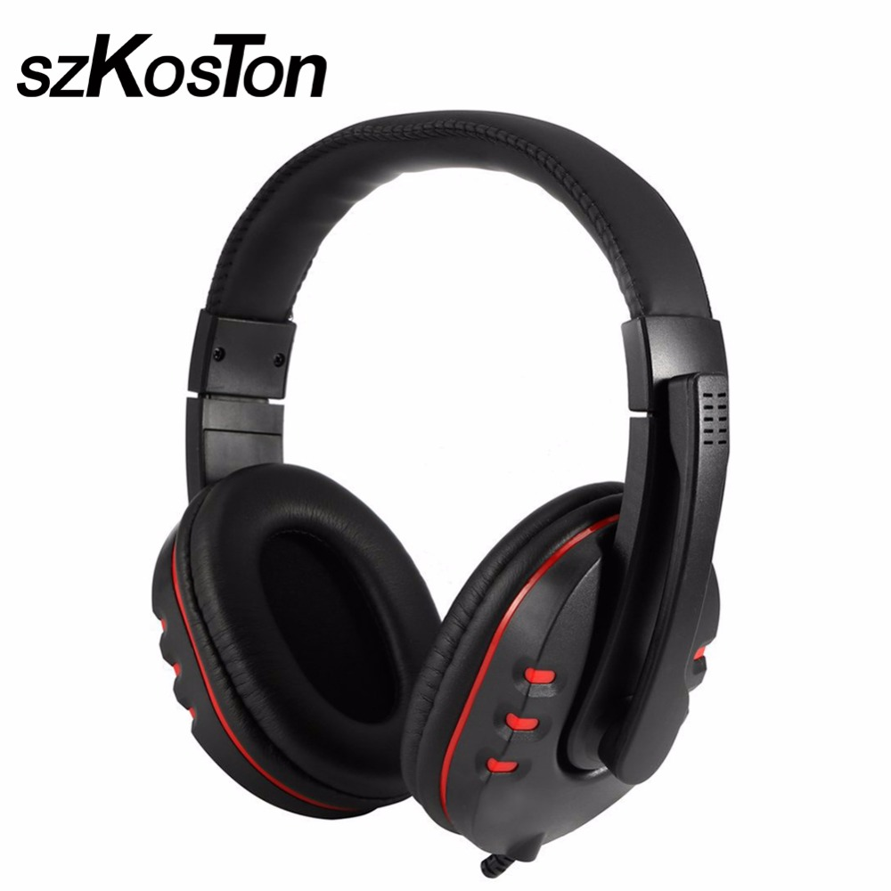 Wired Headphone Game Earphone USB Stereo Surrounded Gaming Headset For Ps4 Ps3 For Computer PC Gamer With Microphone game steering wheel 270 degree wired controller gaming accessories with brake pedal for xbox360 for ps3 for pc