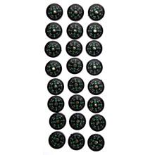 Акция! Новые 24 шт 0,08 унций 20 мм маленькие Мини Компасы для выживания комплект