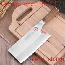 LD brand dual knife compound steel kitchen knives cut cutter chop bone Chopping Slice fish Fruit peeling MeatGiftChoppers