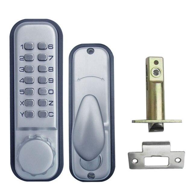 Mechanical Code Lock Digital Machinery Keypad Password Entry Door