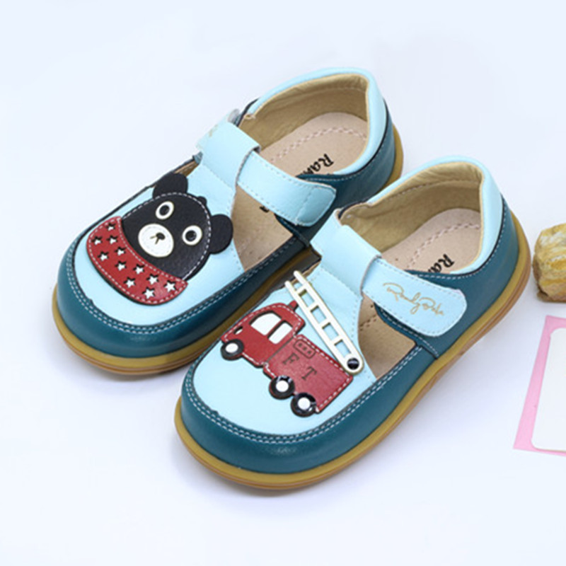 Boys Leather Shoes Autumn Casual Baby Shoes Outdoor Sports Shoes With Pigskin Deodorant Insole Soft Cow Muscle Sole Baby Shoes