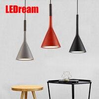 The Nordic Idea Contracted And Contemporary Restaurant Bar Top Corridor Bedroom Imitation Cement Droplight