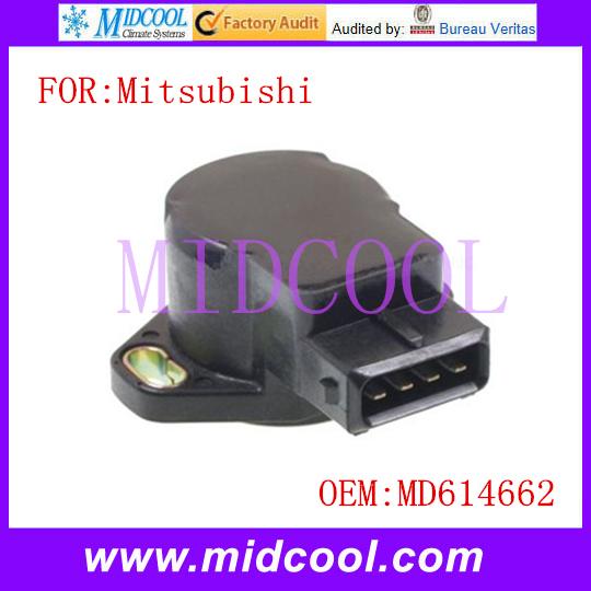 New TPS de Posición Del Acelerador Sensor uso OE NO. MD614662 para Mitsubishi