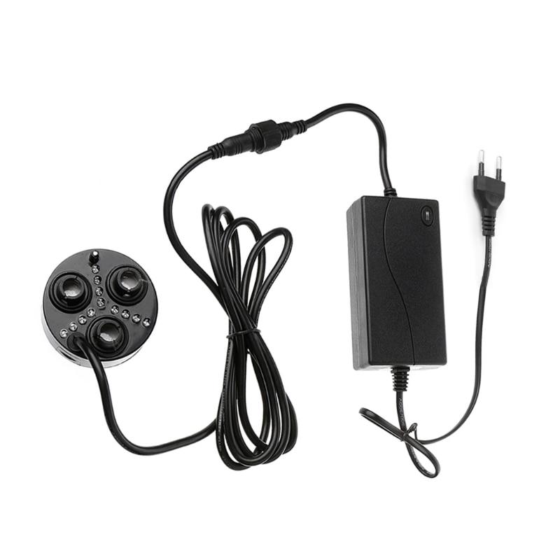 3 Head Mist Maker Atomizer Ultrasonic Air Humidifier Fogger Nebulizer EU/US Plug