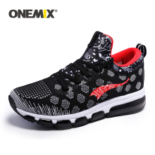 ONEMIX Man Running Shoes for Men Breathable Net Durable Rubber Outsole Sports Shoes Ethletic Walking Sneaker Women Jogging Shoes
