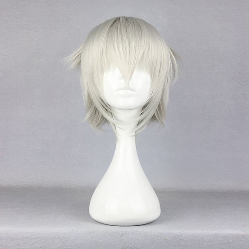 Anime K Project Isana Yashiro Wig Cosplay Costume K RETURN OF KINGS Men Women Short Synthetic Hair Halloween Party Wigs