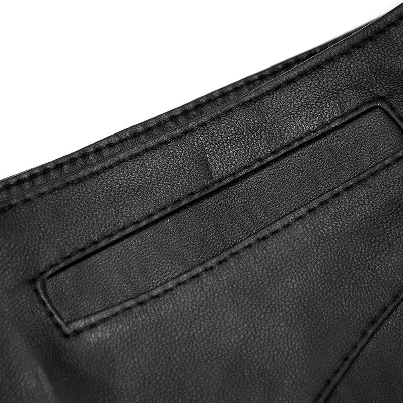 Solide Arrivée Offre Black 2018 Peau Nouvelle Le019 Sexy Mouton En Jeans Maylooks Femmes Avec De Cuir Véritable Fly Spéciale Court Shorts IwttSxdF